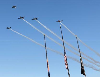 Veterans Day Ceremony 2018 Flyover